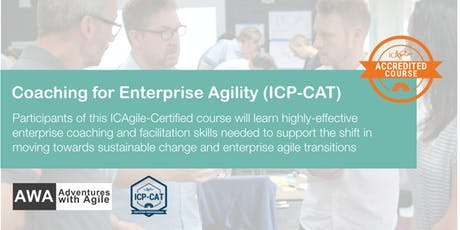 Coaching for Enterprise Agility (ICP-CAT) | Oslo - October tickets