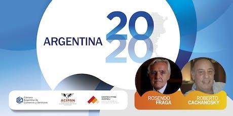 ARGENTINA 2020 entradas