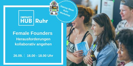 Female Founders - Herausforderungen kollaborativ angehen tickets