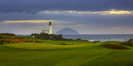 King Robert the Bruce from the Tips at Trump Turnberry