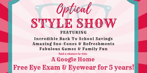 Optical Style Show
