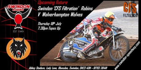 Swindon Robins V Wolverhampton Wolves tickets