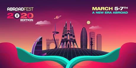 AbroadFest Europe 2020 entradas