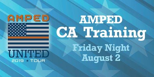 AMPED CA Training  Friday 8/2  8:00-9:30pm