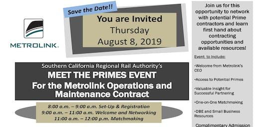 Metrolink Meet the Primes Event