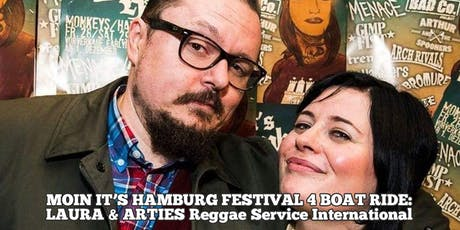 MOIN IT'S HAMBURG FESTIVAL 4 - REGGAE BOAT RIDE Tickets