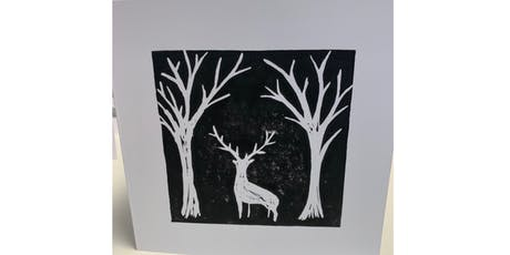 Lino Cut & Print Christmas - The Barn Heswall tickets