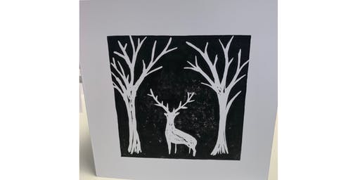 Lino Cut & Print Christmas - The Barn Heswall