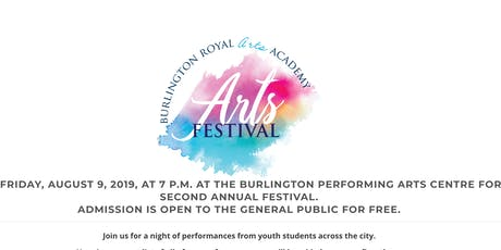 Burlington Royal Arts Festival tickets