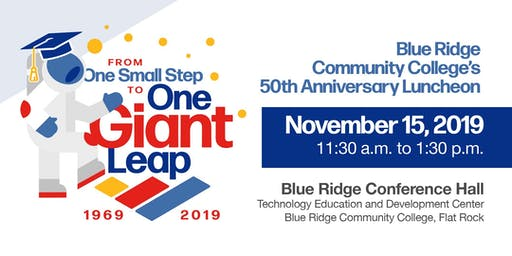 Blue Ridge Community College's 50th Anniversary Luncheon