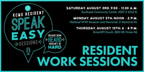 KCMO Resident Work Sessions tickets