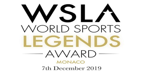 2019 Monaco World Sports Legends Award-Gala Dinner & Show & Award Ceremony biglietti