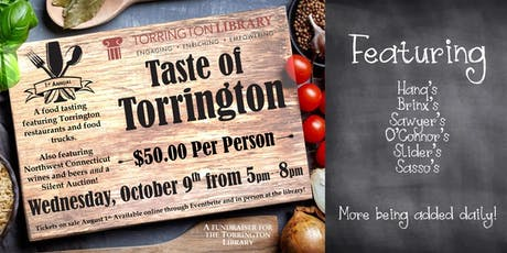 Taste of Torrington tickets