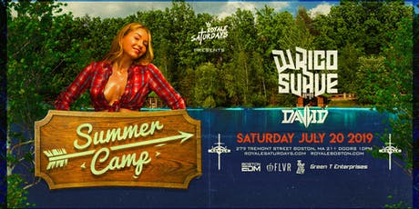 Summer Camp ft. DJ Rico Suave | Royale Saturdays | 7.20.19 | 10:00 PM | 21+ tickets