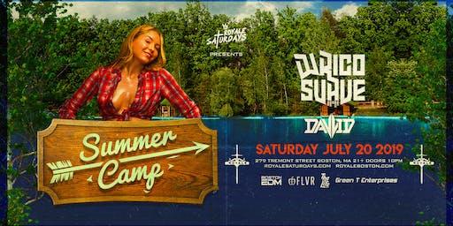 Summer Camp ft. DJ Rico Suave   Royale Saturdays   7.20.19   10:00 PM   21+
