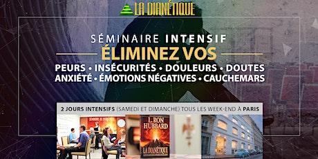 Éliminez vos peurs, stress, insécurités et doutes | Séminaire à Paris billets