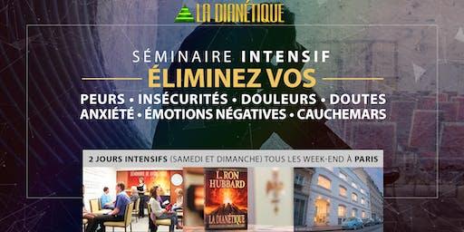 Éliminez vos peurs, stress, insécurités et doutes | Séminaire à Paris