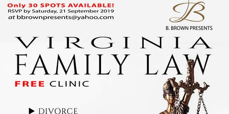 Free Family Law Clinic (Virginia). tickets
