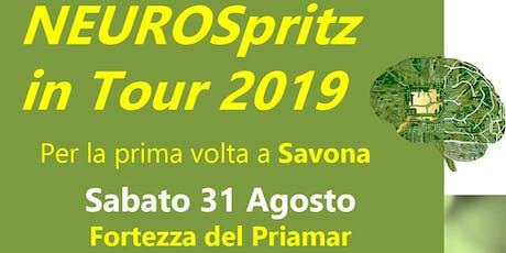 NEUROSpritz in Tour 2019 a Savona biglietti