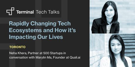 Rapidly Changing Tech Ecosystems and How it's Impacting Our Lives tickets