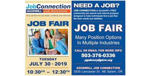 Job Fair - Salem - 7/30/19