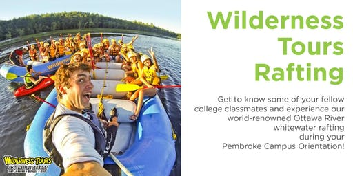 AC Orientation: Wilderness Tours Rafting 2019