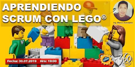 APRENDIENDO SCRUM CON LEGO entradas