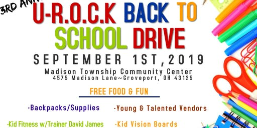 U-R.O.C.K Back to School Success Drive
