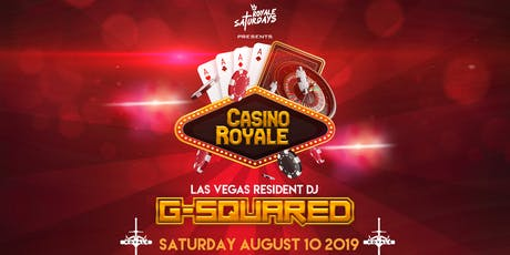 Royale Saturdays: Casino Royale tickets