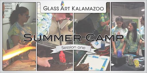 Summer Glass Camp for Kids Exhibition Reception