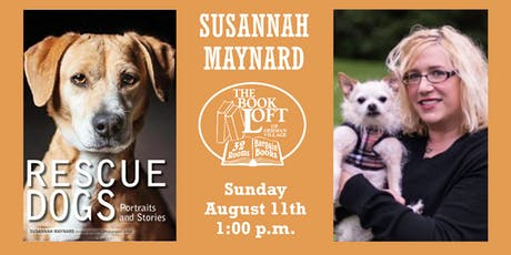 Susannah Maynard - Rescue Dogs: Portraits and Stories tickets