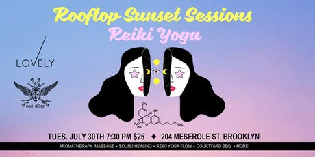Copy of ROOFTOP SUNSET SESSIONS ~ REIKI YOGA tickets