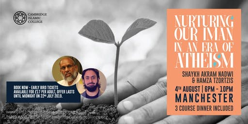 Nurturing our Iman in an Era of Atheism