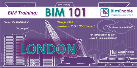 BIM 101 - London tickets