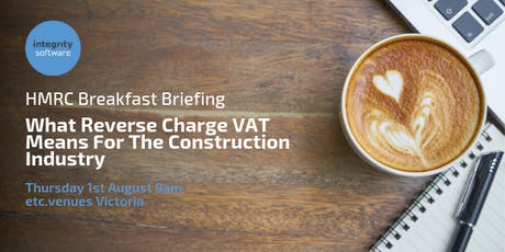 HMRC Briefing: What Reverse Charge VAT Means For The Construction Industry tickets