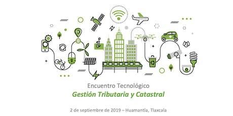 Encuentro Tecnológico AMMECI - Gestión Tributaria y Catastral boletos