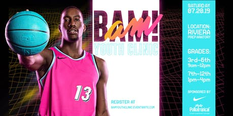 Bam's Youth Basketball Clinic  tickets