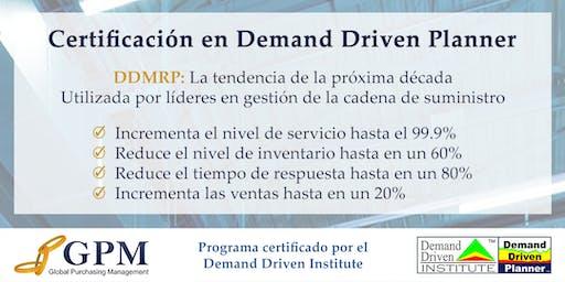 Curso Demand Driven Planner (Sede: Lima)