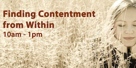 Finding Contentment from Within tickets