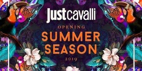 Sabato JUST CAVALLI - Aperitivo + Serata - Lista Williams ✆+39 3491397993  biglietti
