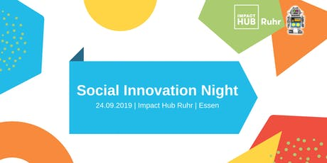 Social Innovation Night Ruhr #2 Tickets