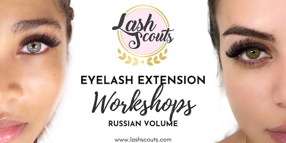 f58cce5a020 Lash Scouts Russian Volume Eyelash Extension Workshop Tickets, Multiple  Dates | Eventbrite