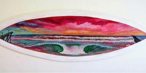 Paint a Surfboard at Juice  Box Surf Shop