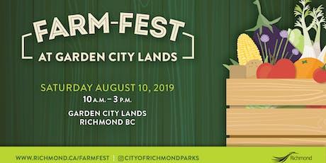 Farm Fest at Garden City Lands tickets
