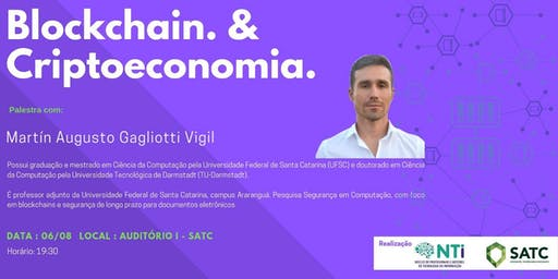 Workshop Blockchain. & Criptoeconomia.