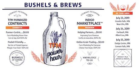 Bushels & Brews: A TFM Power Hour - Cannon Falls tickets