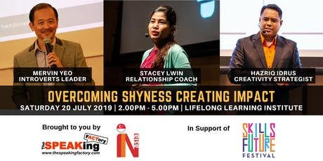 Overcoming Shyness Creating Impact tickets