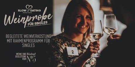 Weinprobe für Singles (30-49 Jahre) Tickets