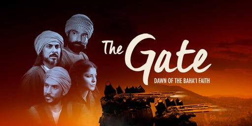 """The Gate: Dawn of the Baha'i Faith"" in Tea Tree Plaza Modbury, SA"
