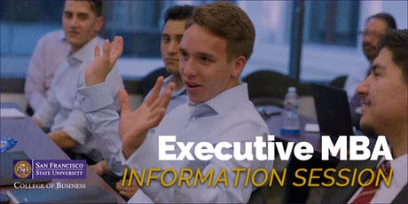 San Francisco State University - MBA for Executives Information Session tickets
